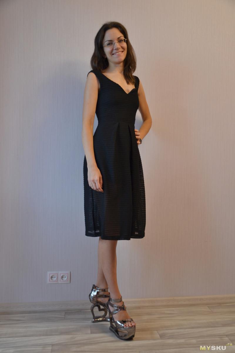 1b6a729e0487 Черное летнее платье (просто посмотреть)