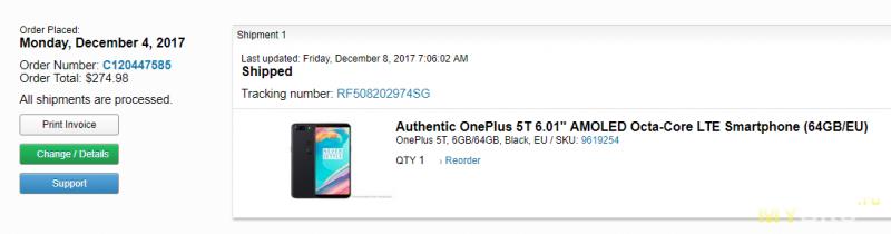 Краткий обзор oneplus 5 64gb