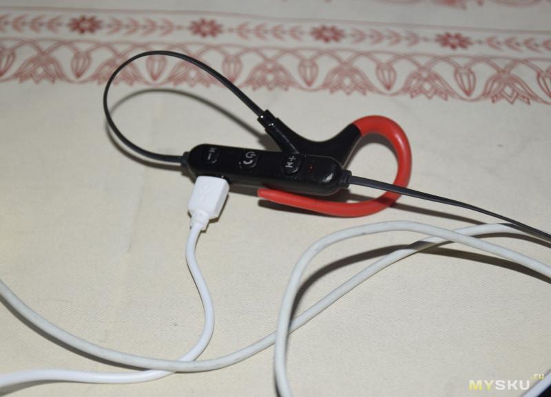 Короткий обзор на очередные дешевые  Bluetooth наушники BT7