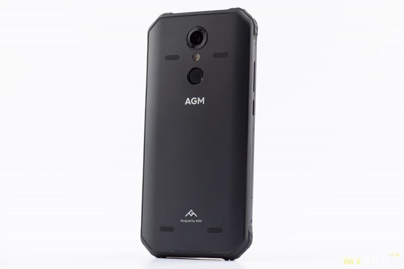 Защищенный военный смартфон AGM A9 с 4 динамиками JBL