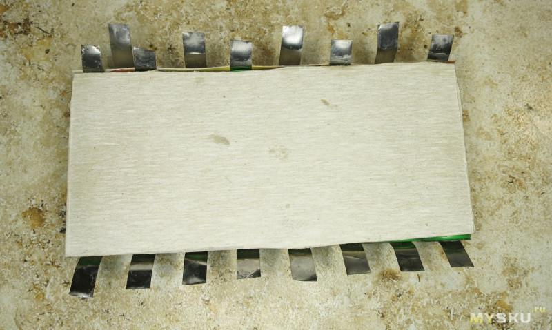 Последовательность сборки батареи моноколеса 50 вольт  из sony VTC4.
