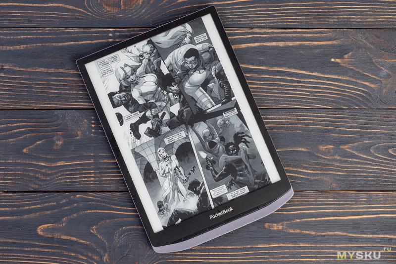Обзор топовой электронной книги PocketBook X: самые доступные 10,3 дюйма