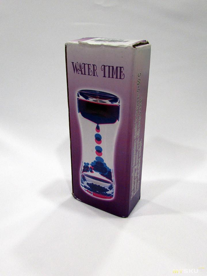 Игрушка антистресс водяные часы типа песочных