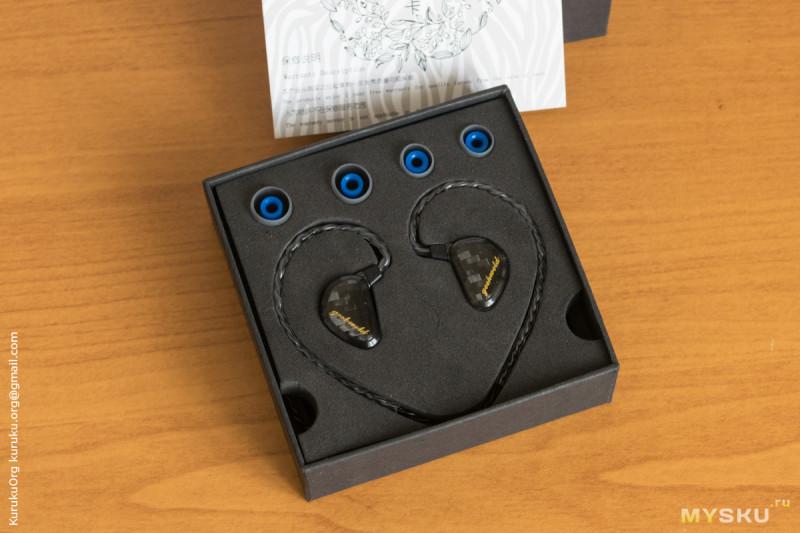 Geek Wold GK3 – трёхдрайверные динамические наушники с интересным звучанием