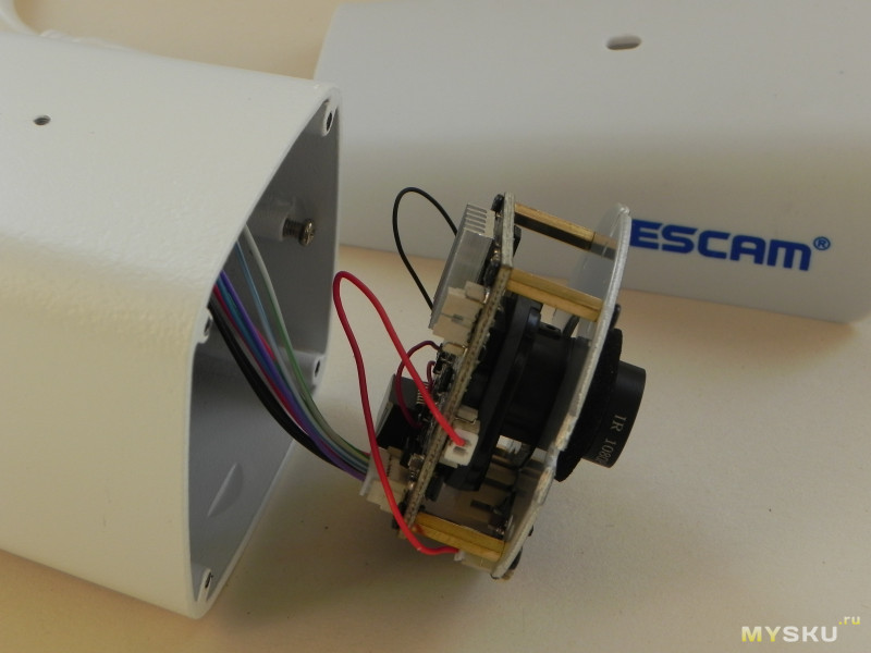 Уличная IP камера ESCAM QH002