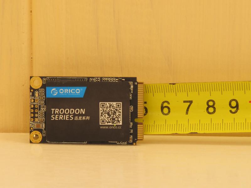 Обзор mSata SSD-накопителя Orico Troodon M200