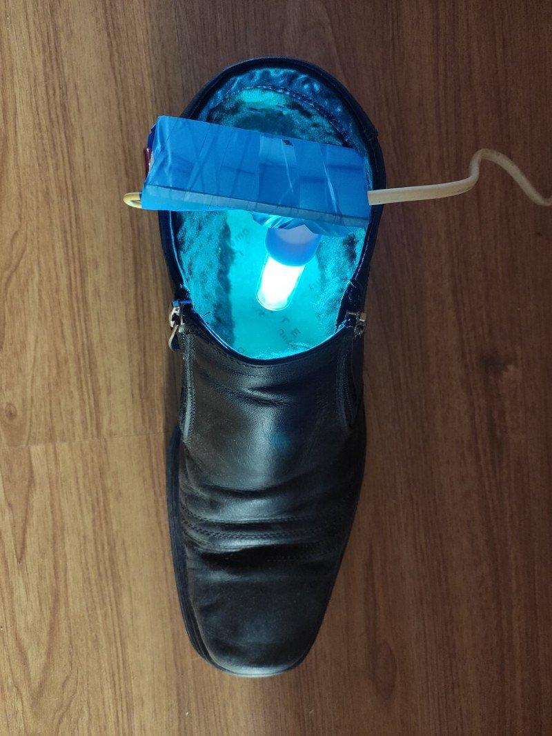 В ботинке