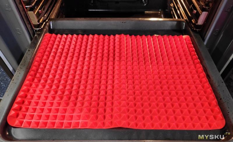 Антипригарный силиконовый коврик. Реально антипригарный. Мини-обзор.