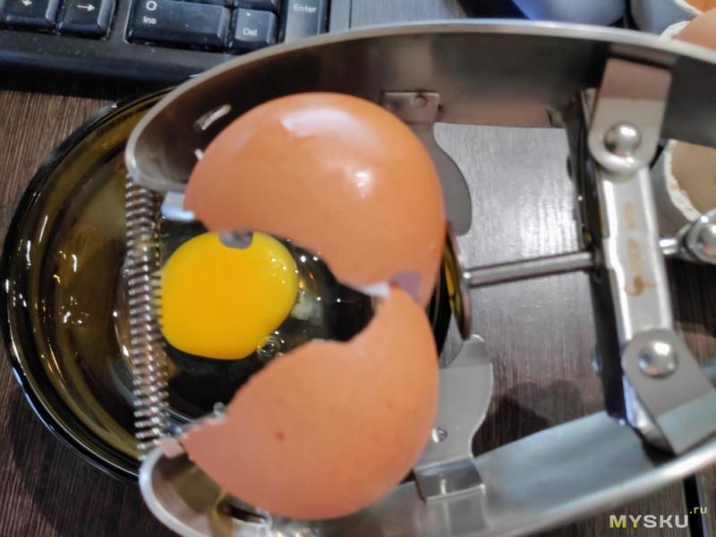Открывашка для яиц 2.0 На этот раз точно для сырых яиц