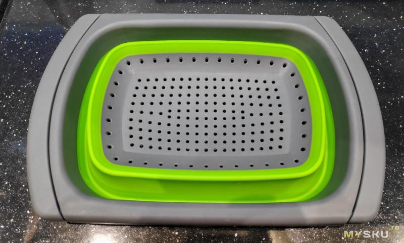 Складной дуршлаг и регулируемая корзина для мойки. Удобные и востребованные на кухне, или бесполезный хлам?