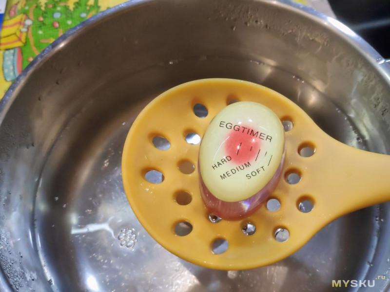 EGGTIMER. Индикатор готовности варёных яиц. Это вообще работает?