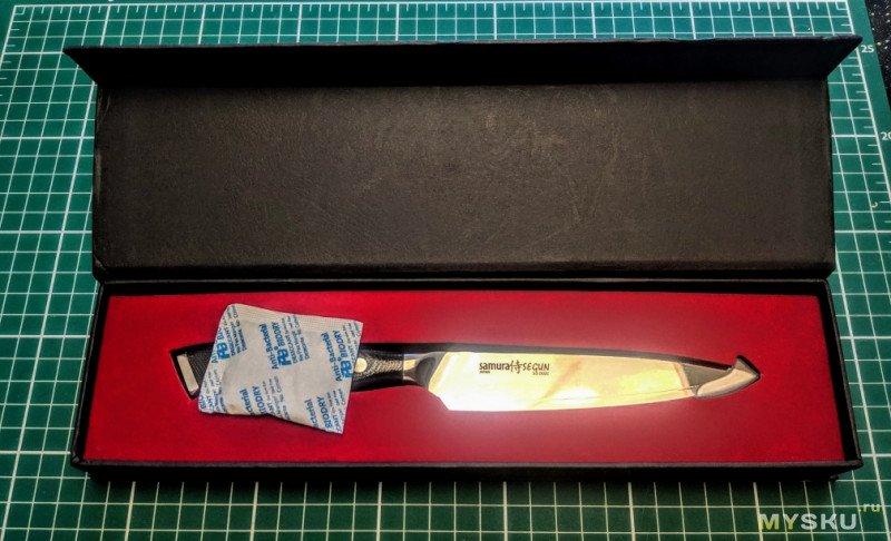 5-дюймовый универсальный нож Samura Segun с Aliexpress