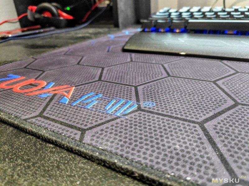 Игровой коврик Zuoya 900х400. Что с ним стало после 10 месяцев эксплуатации.