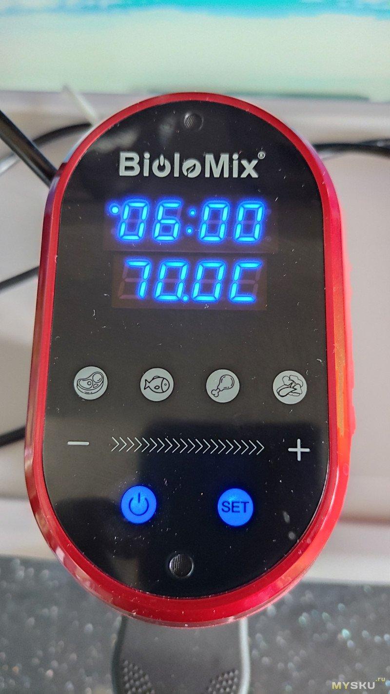 Су вид BioloMix SV-1900 на 1200W с WiFi и управлением с телефона (Часть-2. Не обзор. Пробую готовить)