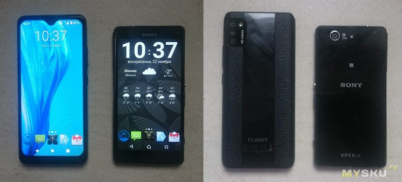 Cubot Note 7. Мини-обзор, небольшого смартфона