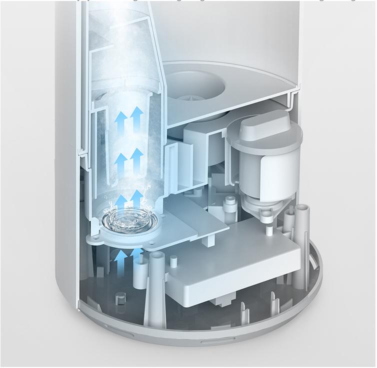 Короткий обзор увлажнителя Xiaomi MIJIA Intelligent UV-C и интеграция в Home Assistant