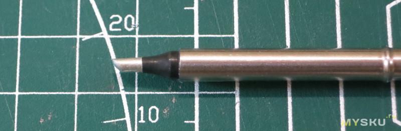 Обзор набора высококачественных паяльных жал T12 с черным хромированным покрытием паяльной головки