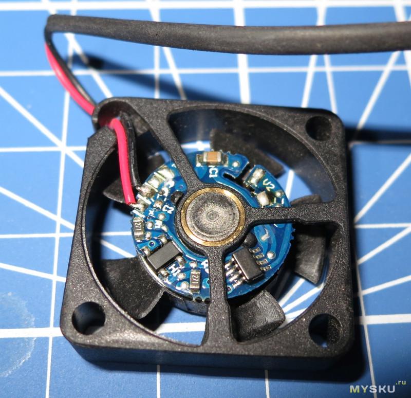 Вентилятор Sunon MagLev 25х25х6мм 5V 0.58W