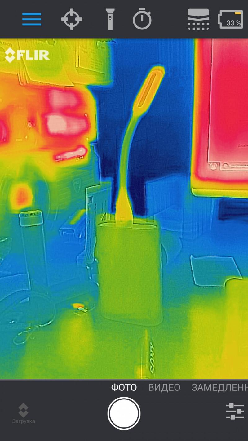 FLIR ONE PRO 3rd Gen USB-C - тест инфракрасной камеры