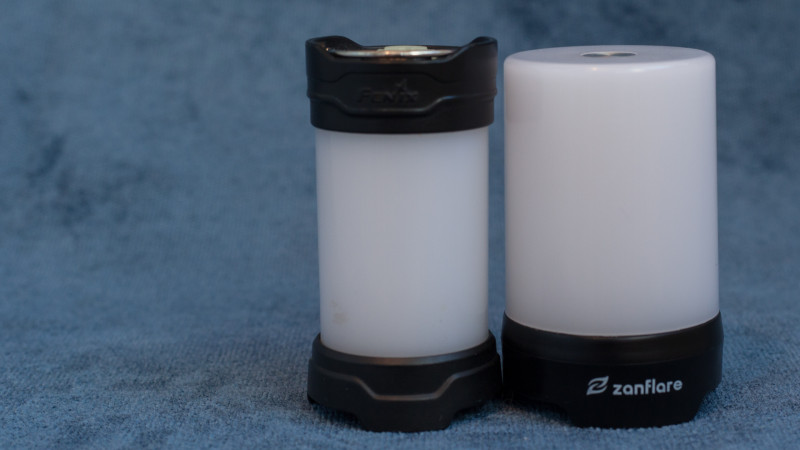 <span>Кемпинговая лампа Zanflare T1 с бесступенчатой регулировкой яркости и цветовой температуры.</span>