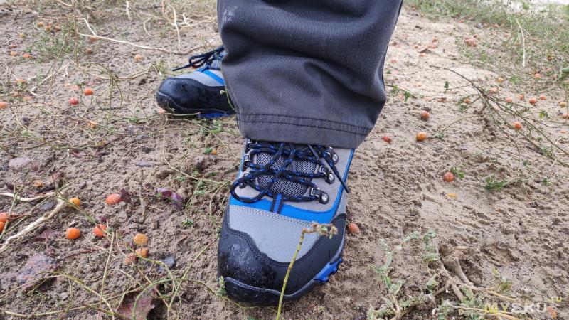 Безымянные осенние ботинки (обзор спустя месяц использования)