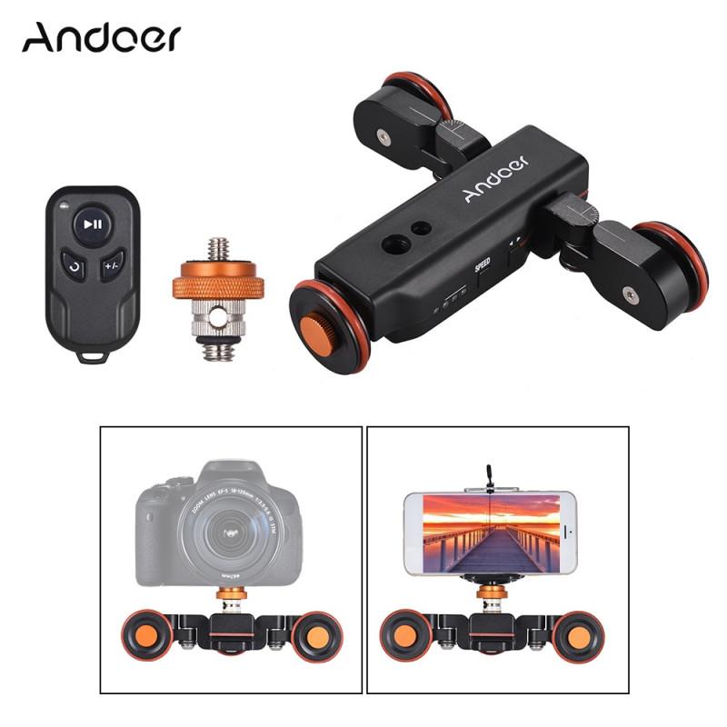 Моторизированный видеослайдер Andoer L4 PRO за 47.99$