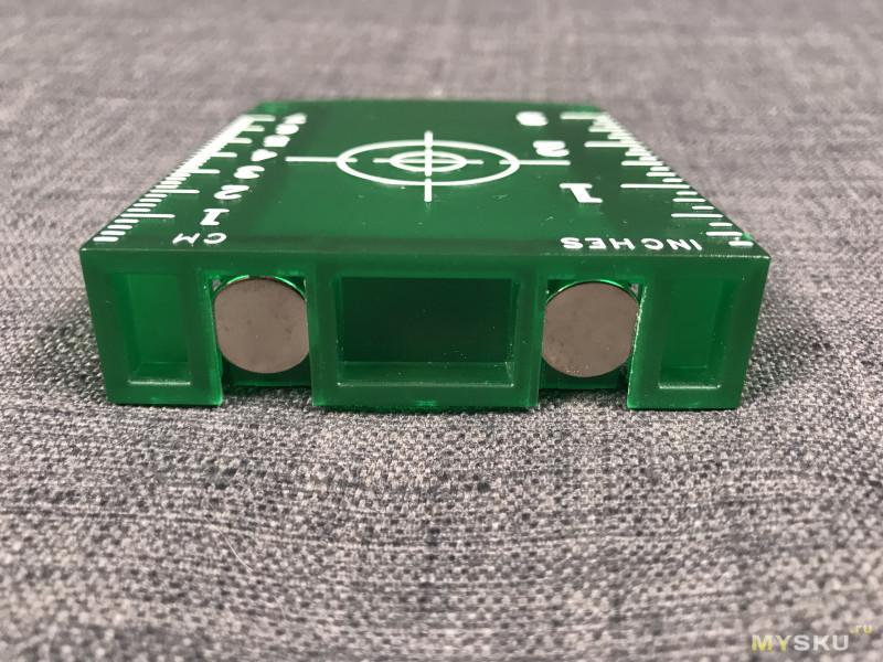 Лазерный осепостроитель на 12 линий и проверка при ярком свете