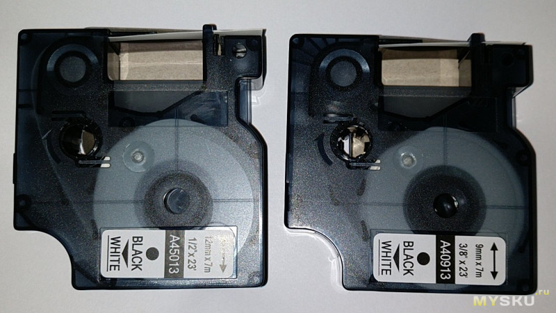 лента для принтера D1 Label Tape 45013 Compatible for DYMO LabelManager 160