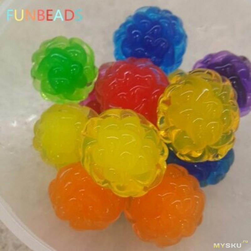 Большие шарики из гидрогеля