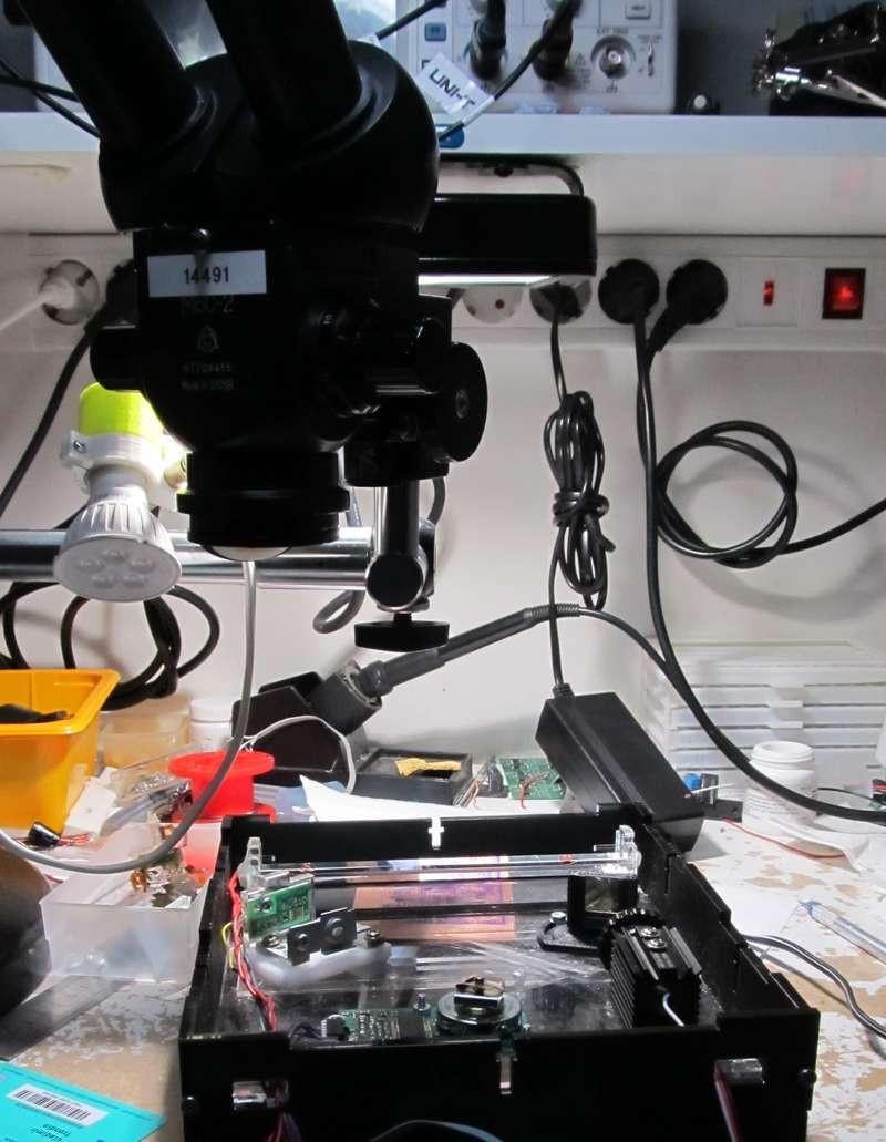 405 nm Laser exposer - вторая часть Марлезонского балета