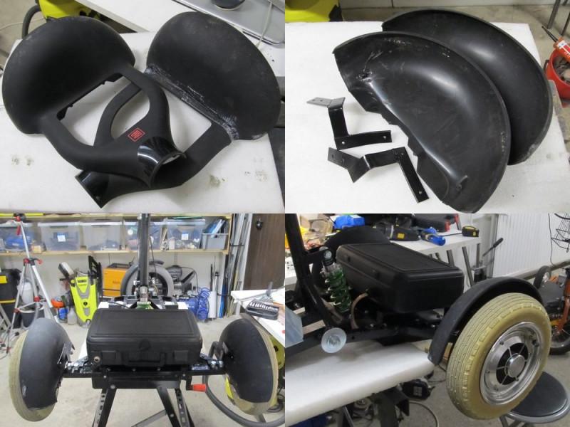 Пепелац 2.0 — электрический скутер-трайк