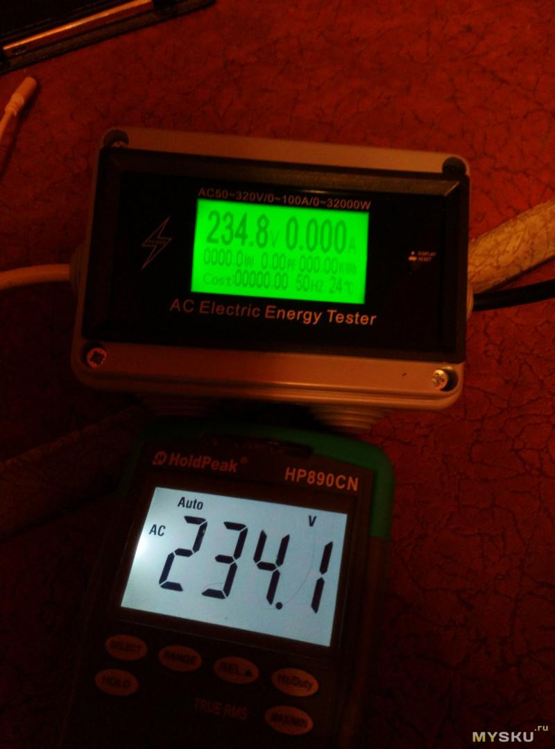 AT3010 ваттметр/вольтметр/амперметр с Bluetooth