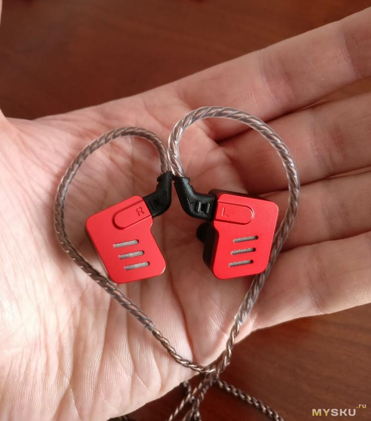 Новые наушники от фирмы KZ ZS - новый звук в стиле Железного человека.