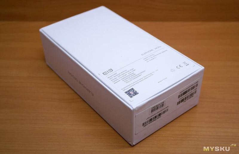 ELEPHONE A4 Pro -  запоминающийся смартфон
