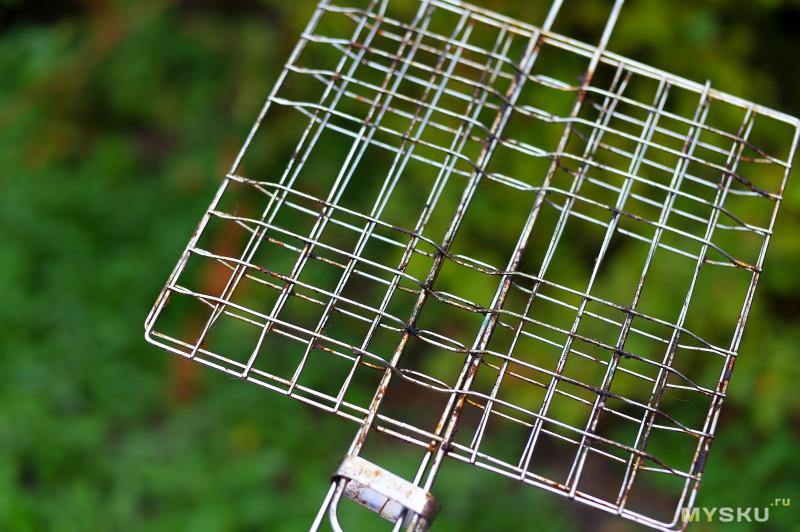 Щетка для чистки грильниц, шампуров или самые не рационально потраченные деньги