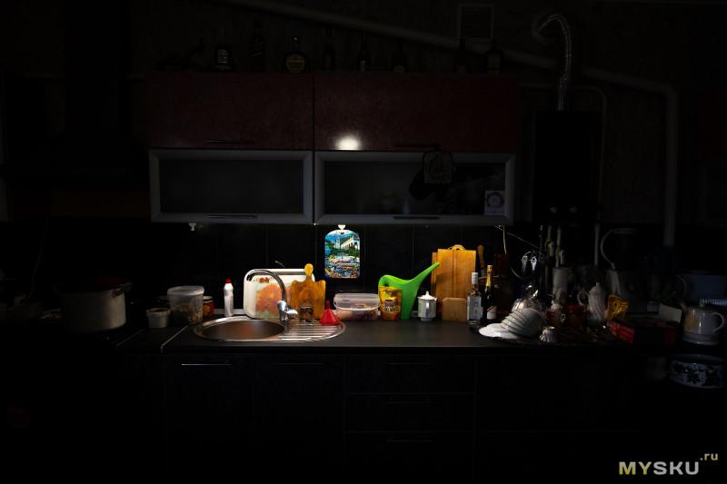 Светодиодная подсветка на кухню - управляем движением руки