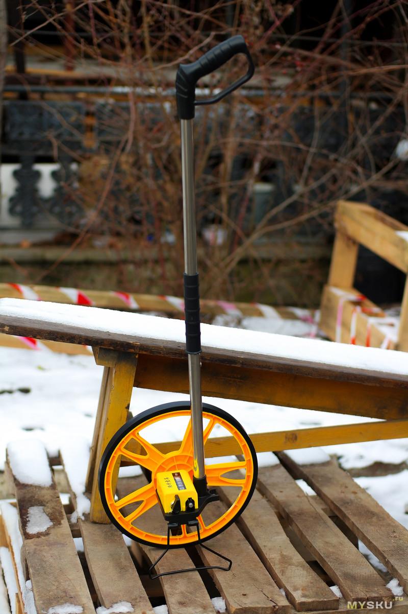 Механическое дорожное колесо или курвиметр. Тесты, расчлененка.