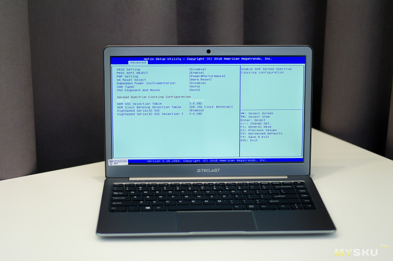 Ноутбук Teclast F6 - 13.3'' FullHD , N3450, 6GB Ram, 128GB SSD на Win10 Home
