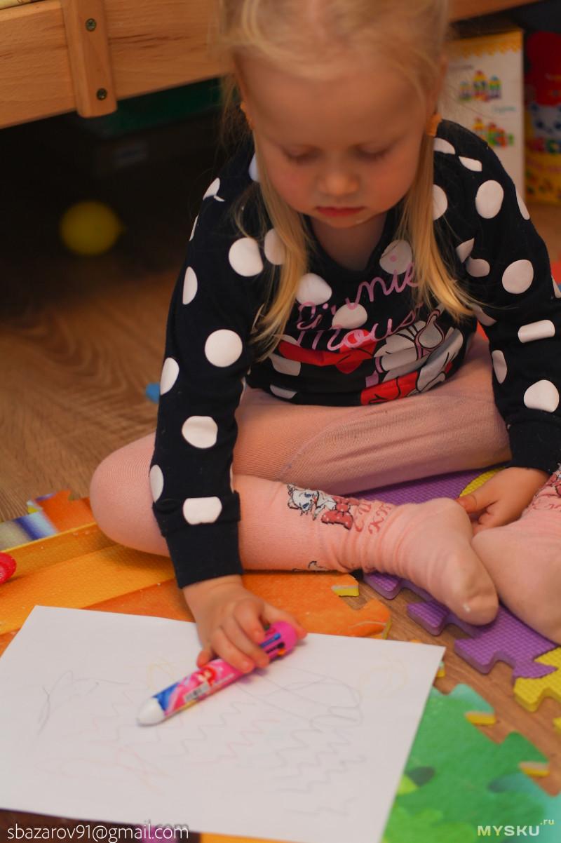 Ручка на 10 цветов для ребенка