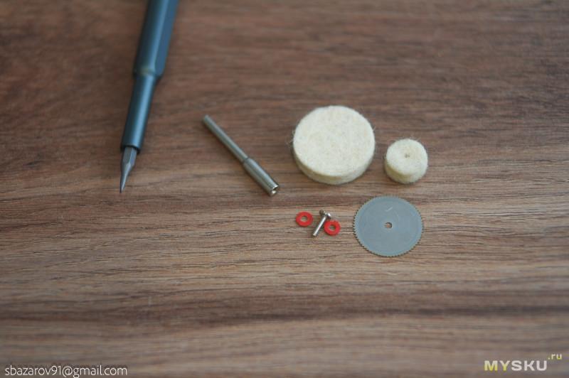 Компактный аккумуляторный дремель KKmoon