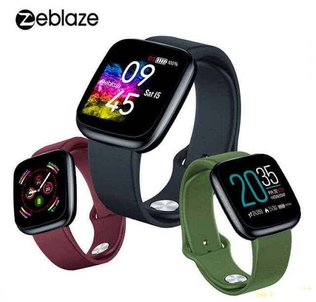 Умные часы Zeblaze Crystal 3