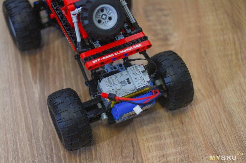 Конструктор Cada C51041W - дешевый аналог Lego Technic