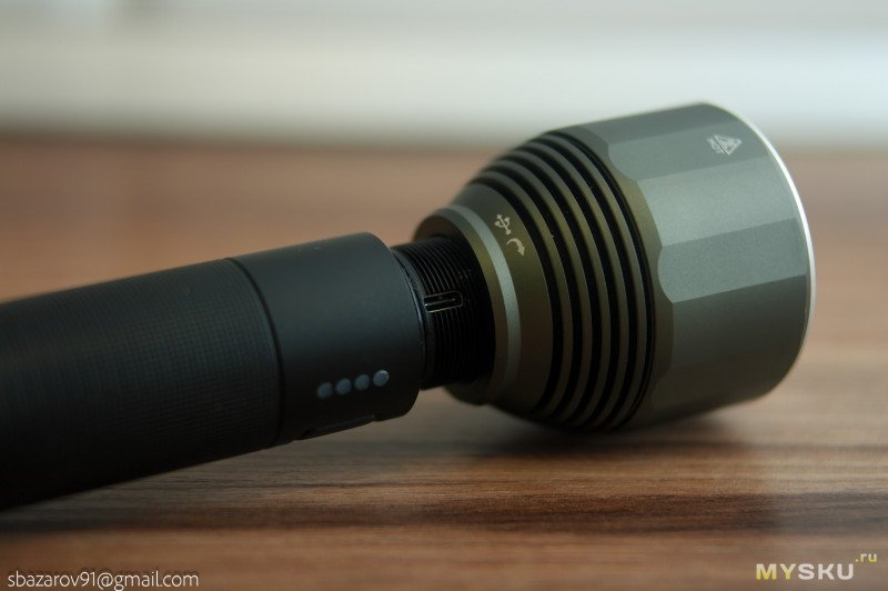 Светодиодный дальнобойный фонарь Xiaomi NexTool на XPH50.2