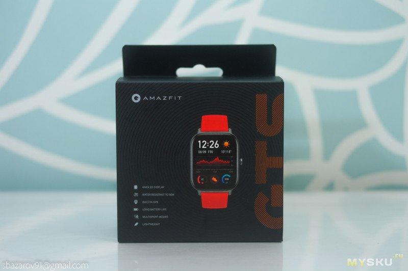 Смарт-часы Amazfit GTS, обзор после месяца эксплуатации