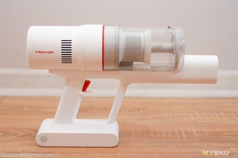 Вертикальный аккумуляторный пылесос Trouver Solo10