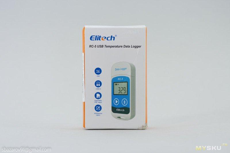 Регистратор температуры Elitech RC-5