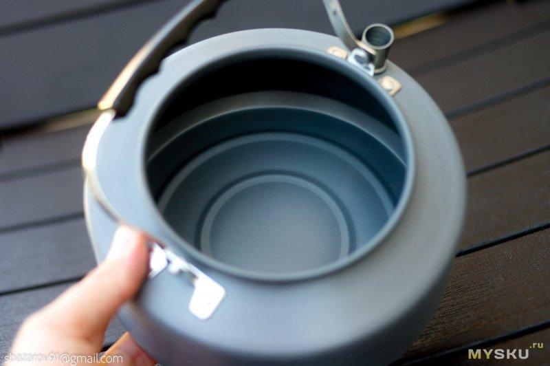 Туристический чайник на 1.2 литра