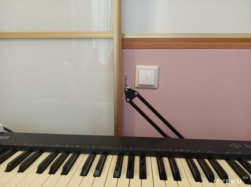 Небольшой обзор крепления для микрофона