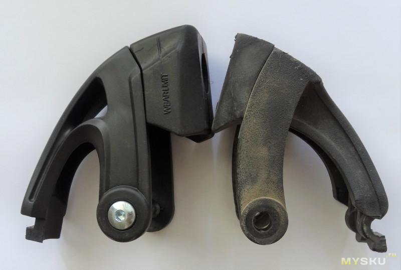 Колеса и тормоз для роликовых коньков