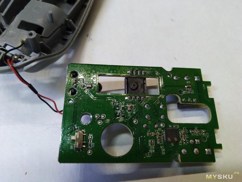 Микропереключатели для мыши. Замена.